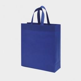 LAKE. Sacoșă termolipită cu burduf în laterale și la bază, BO7503 - ELECTRIC BLUE