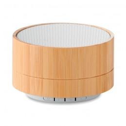 SOUND BAMBOO - Boxă Bluetooth din bambus 3W   MO9609-06, White