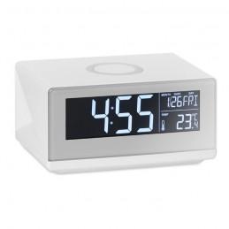 SKY SPEAKER - Ceas cu încărcător wireless    MO9588-06, White
