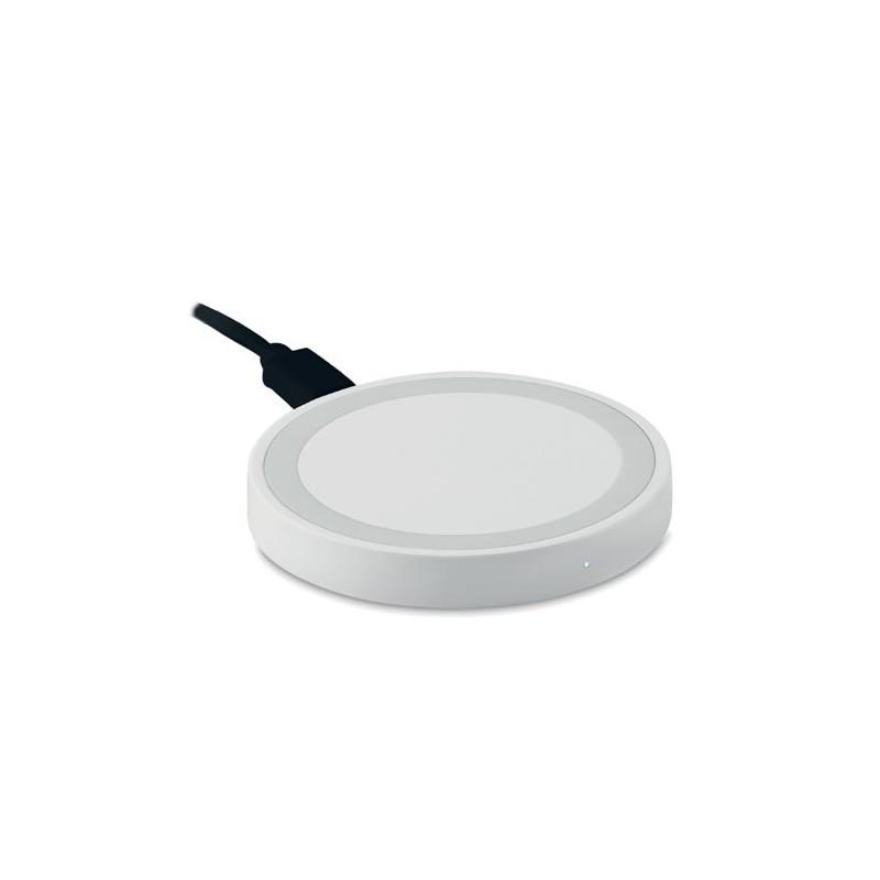 WIRELESS PLATO - Încărcător rotund mic          MO9446-06, White