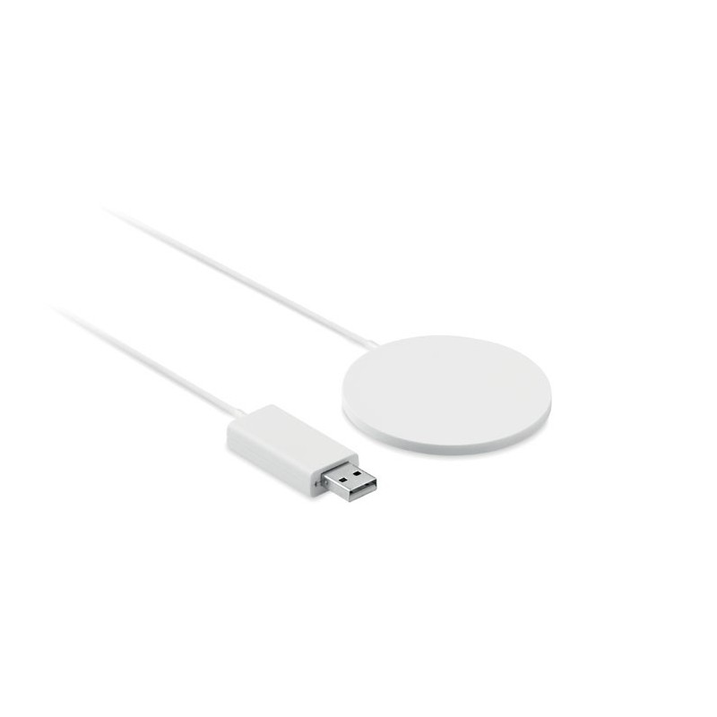 THINNY WIRELESS - Încărcător wireless subțire    MO9763-06, White