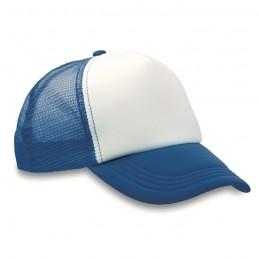 TRUCKER CAP - Şapcă din poliester (plasă, în MO8594-04, Blue