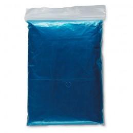 SPRINKLE - Impermeabil cu glugă în husă   IT0972-04, Blue