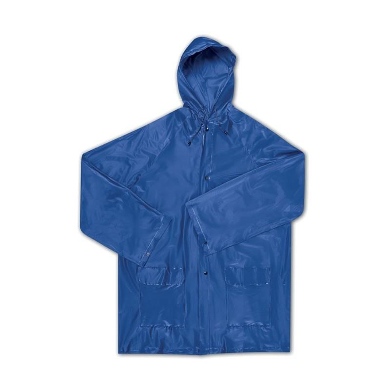 MAJESTIC - Impermeabil 'EVA' cu glugă     IT2557-04, Blue