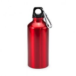ATHLETIC. Bidon de aluminiu cu carabină 400 ml, MD4045 - RED