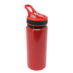 CHITO. Bidon 680 ml din metal colorat, MD4058 - RED