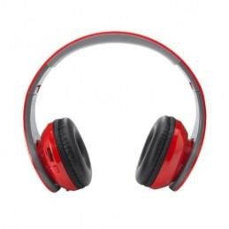 RAYEL. Căscă fără fir, pliabilă, cu Bluetooth 5.1, HP3151 - RED