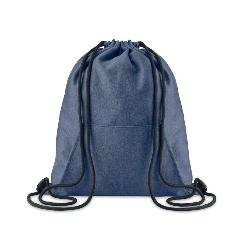 SWEATSTRING - Sac cu cordon și buzunar       MO9364-04, Blue