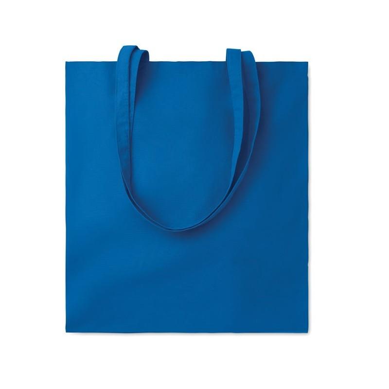 COTTONEL COLOUR + - Sacoşă cumpărături cu mânere   MO9268-37, Royal blue
