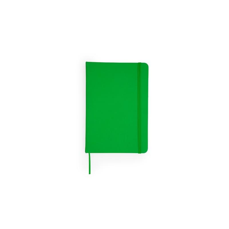 CORAL. Carnetel A6 coperta PU 100 file , NB8051 - Verde