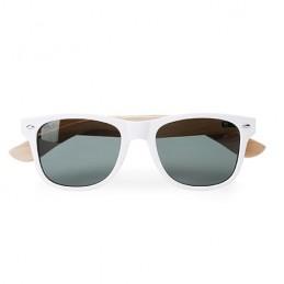 EDEN. Ochelari de soare UV 400, brate bambus, SG8104 - WHITE