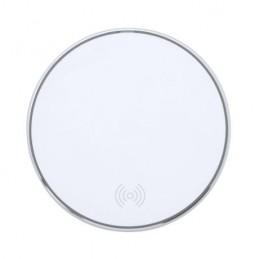 FALCON. Încărcător wireless din aluminiu, IA3005 - WHITE