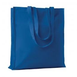 PORTOBELLO - Sacoșă din bumbac și clini     MO9596-37, Royal blue