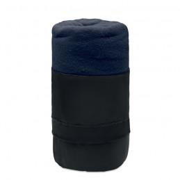MUSALA RPET - Pătură de călătorie, lână RPET MO9935-04, Blue