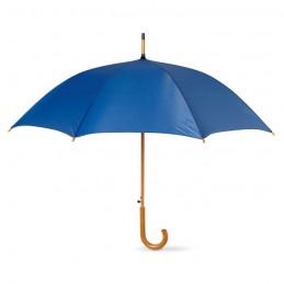 CUMULI - Umbrelă automată/ mâner lemn   KC5131-04, Blue