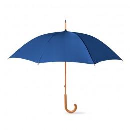 CALA - Umbrelă cu mâner din lemn      KC5132-04, Blue