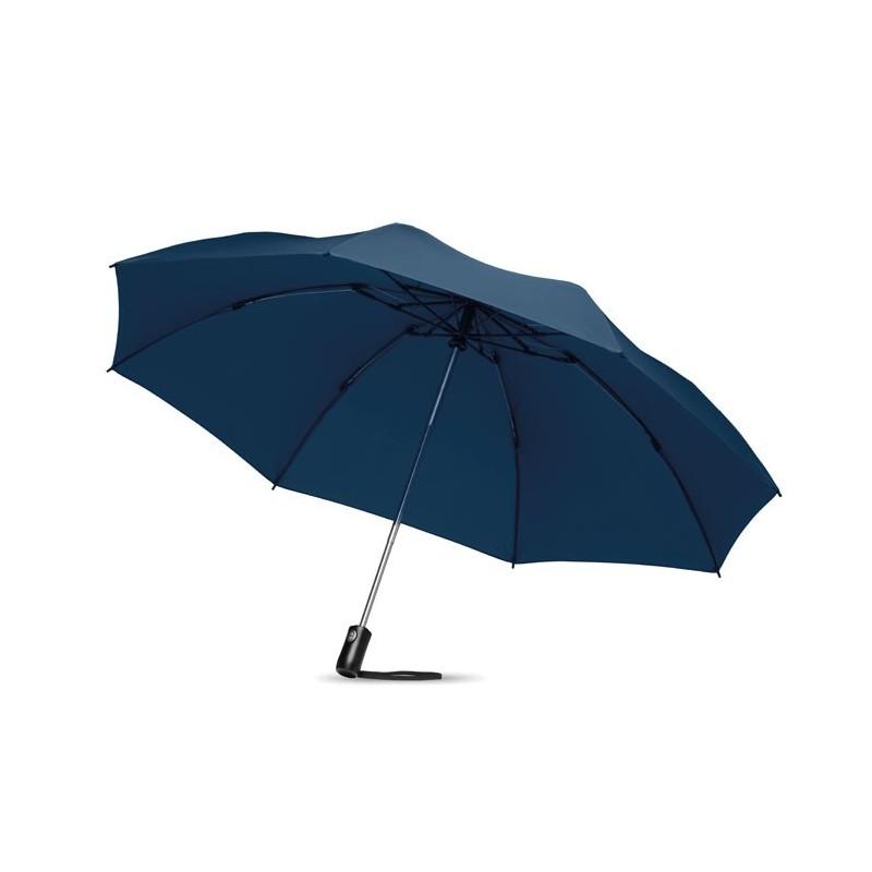 DUNDEE FOLDABLE - Umbrelă pliabilă reversibilă   MO9092-04, Blue