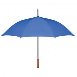 GALWAY - Umbrelă cu mâner din lemn      MO9601-37, Royal blue