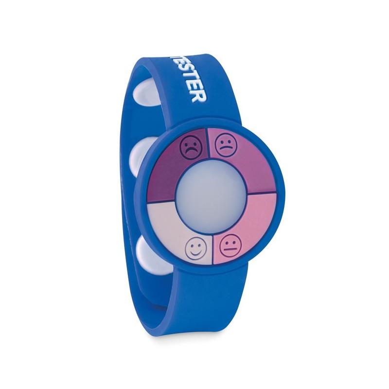 UV CHECK - Brățară cu senzor UV.          MO9589-37, Royal blue