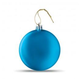 LIA BALL - Glob plat de Crăciun           CX1454-37, Royal blue
