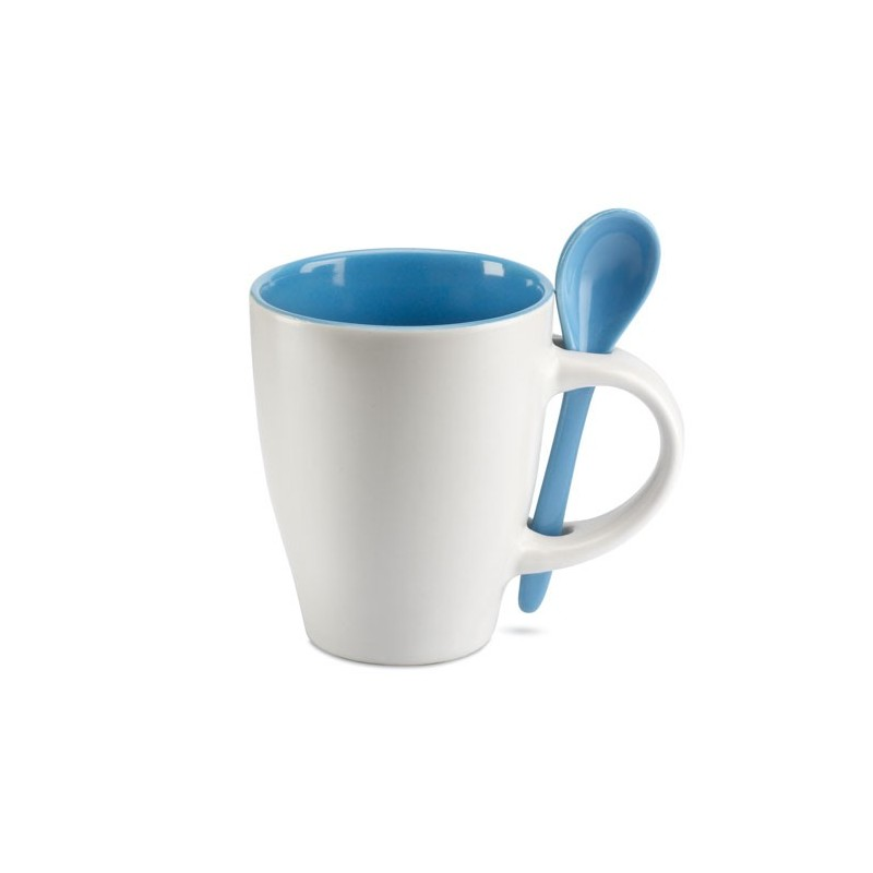 DUAL - Cană cu linguriţă              MO7344-04, Blue