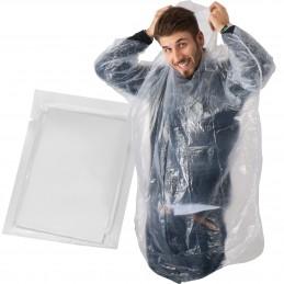 Pelerină ploaie in pachet cu personalizare insert - 097866, Transparent