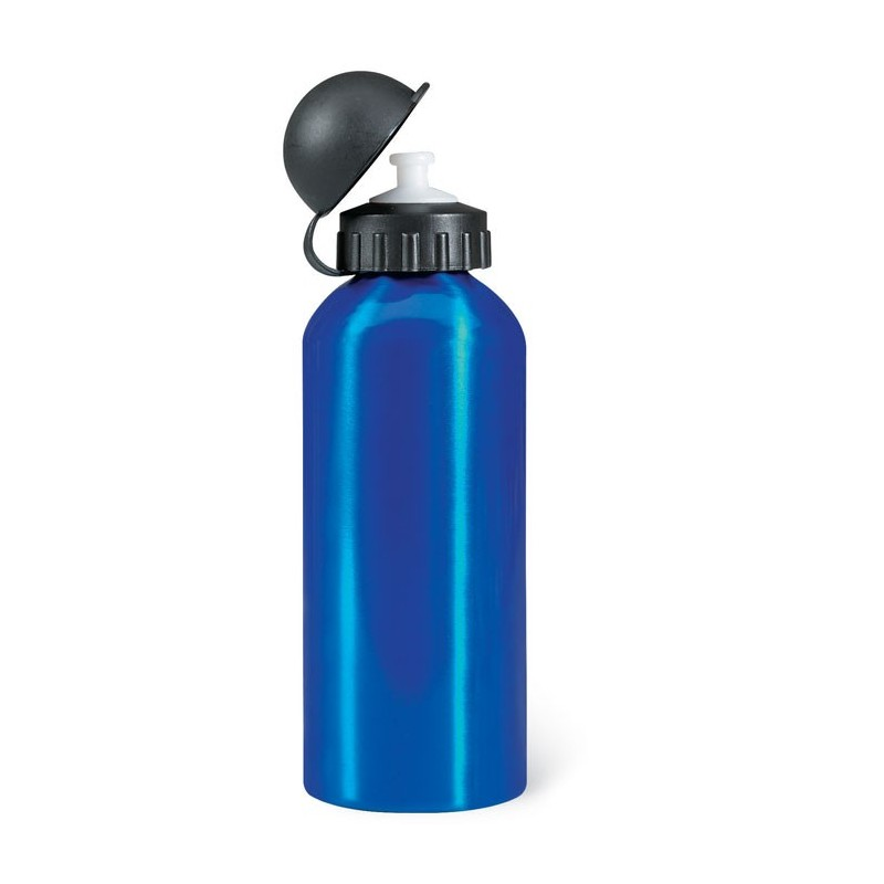 BISCING - Sticlă metalică. Volum 600 ml. KC1203-04, Blue