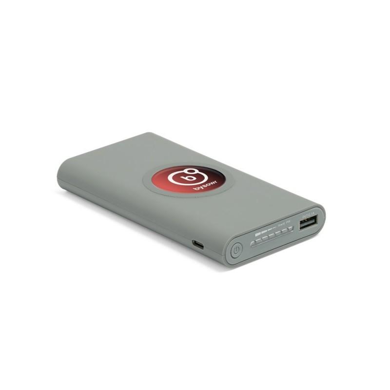 NATTA. Baterie portabilă powerbank 10000 mAh doming sau serigrafie 97904.13, Gri