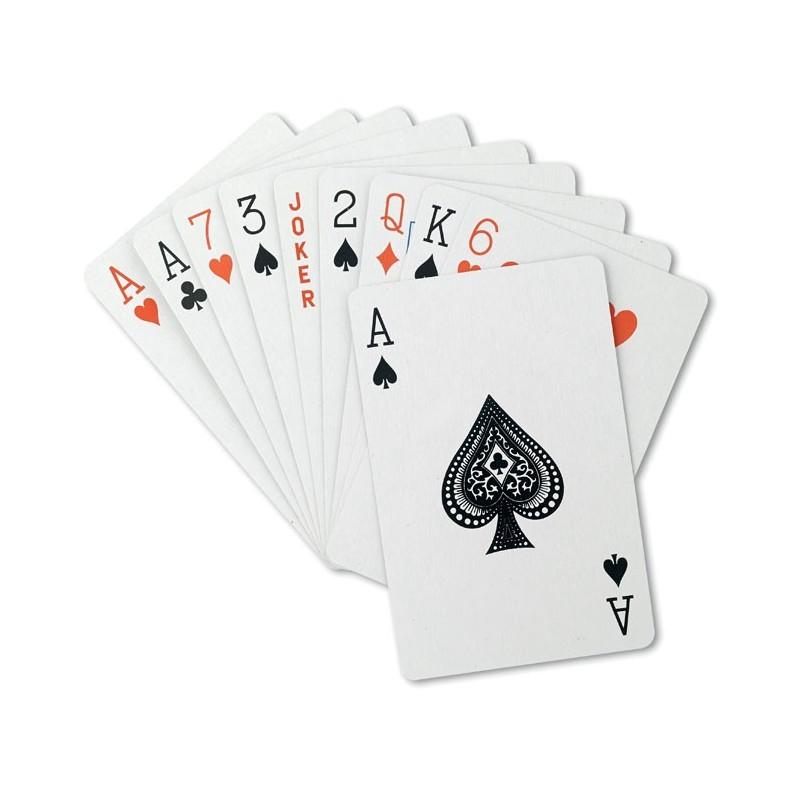 ARUBA - Cărţi de joc în cutie plastic  MO8614-04, Blue