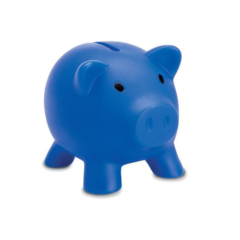 SOFTCO - Pușculiță în formă de porcușor MO8132-04, Blue