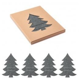 TREESGUARD. Suport tacâmuri pâslă RPET     CX1479-07, Grey