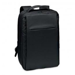 SEOUL. Rucsac laptop din 300D RPET    MO6328-03, Black