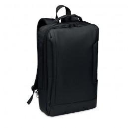 SINGAPORE. Rucsac laptop din 300D RPET    MO6329-03, Black