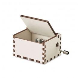BOXMAS. Cutie muzicală din lemn        CX1478-40, Wood