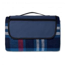 CENTRAL PARK - Păturică picnic acryl          MO9050-04, Blue