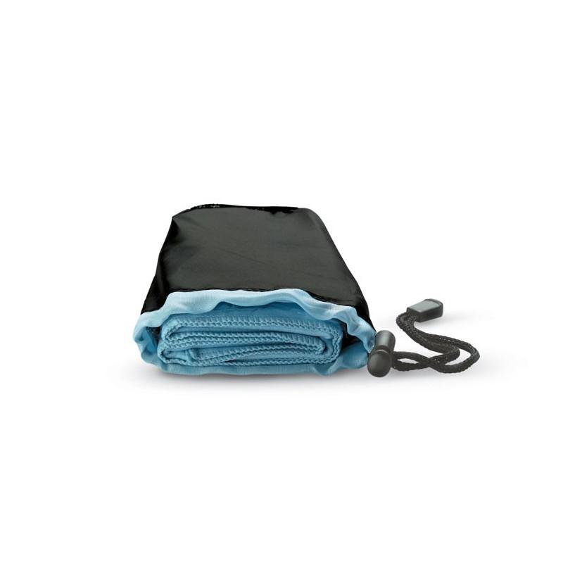 DRYE - Prosop sport în husă din nylon KC6333-04, Blue