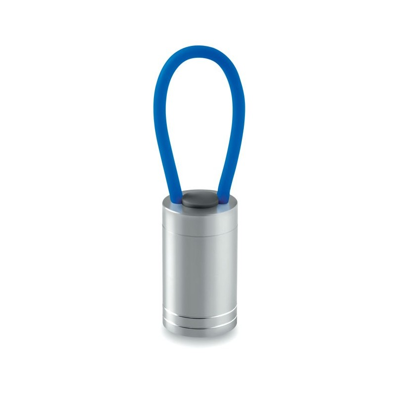GLOW TORCH - Aluminium torch glow in dark   MO9152-37, Royal blue