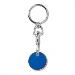 TOKENRING - Breloc cu jeton (€uro token)   MO9748-37, Royal blue