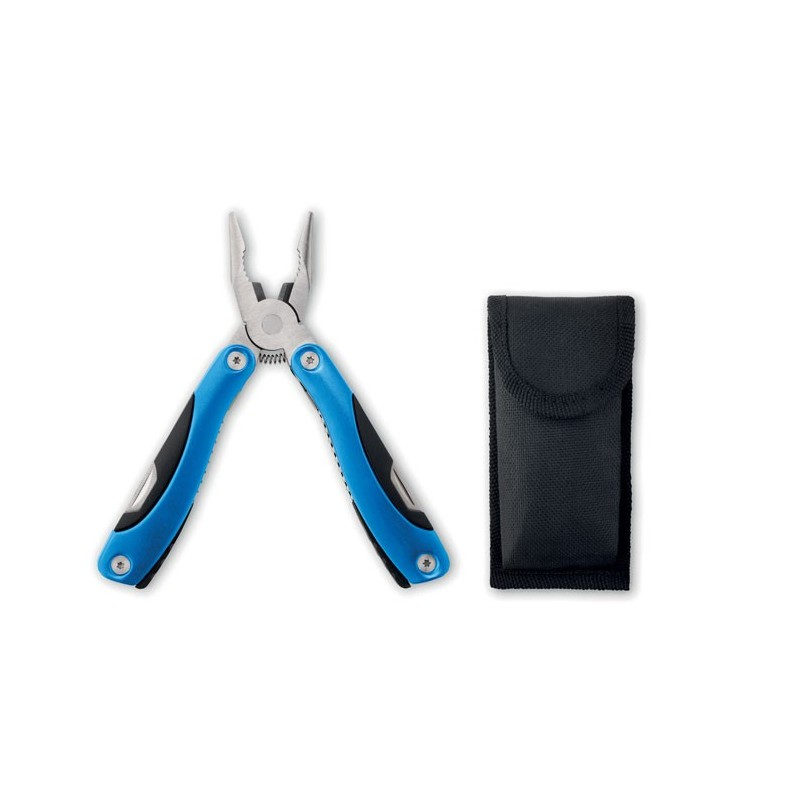 ALOQUIN - Cuțit multifuncțional pliabil  MO8914-04, Blue