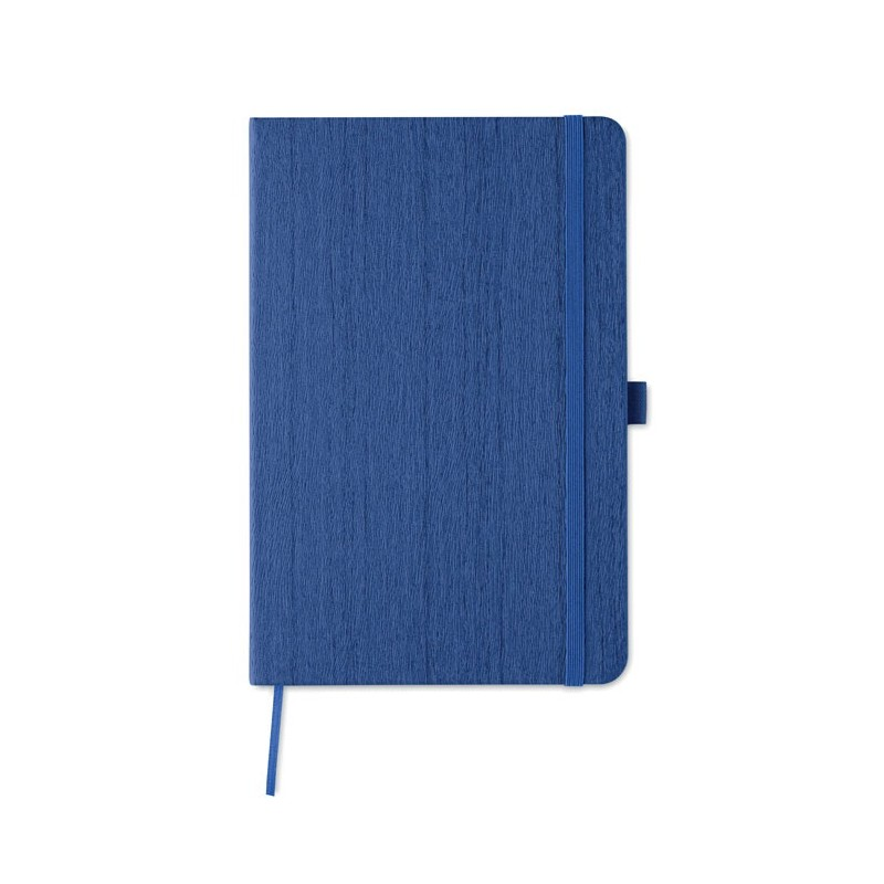 WOODY - Notes A5 în PU cu locaș pt pix MO9616-37, Royal blue