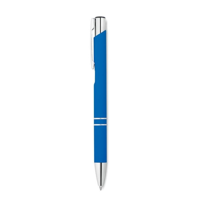 AOSTA - Pix metalic cu finisare cauciu MO8857-37, Royal blue