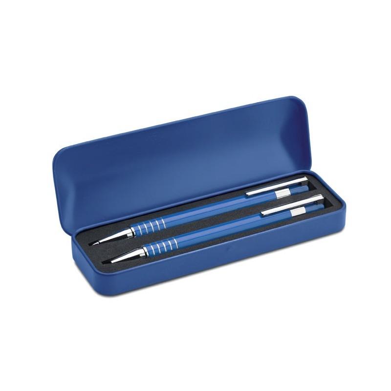 ALUCOLOR - Pix în cutie metalic           MO7323-04, Blue