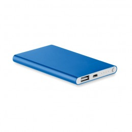 POWERFLAT - Baterie externă de 4000 mAh pl MO8735-37, Royal blue
