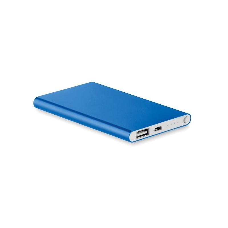 POWERFLAT - Baterie externă de 4000 mAh pl MO8735-37, Royal blue