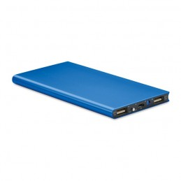 POWERFLAT8 - Baterie externă 8000 mAh       MO8839-37, Royal blue