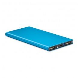 POWERFLAT8 - Baterie externă 8000 mAh       MO8839-04, Blue