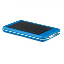 SOLARFLAT - Baterie externă solară 4000mAh MO9075-37, Royal blue