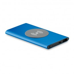 POWER&WIRELESS -  Powerbank Wireless de 4000mAh MO9498-37, Royal blue