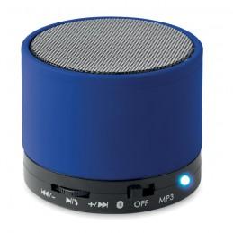 ROUND BASS - Boxă rotundă Bluetooth         MO8726-37, Royal blue
