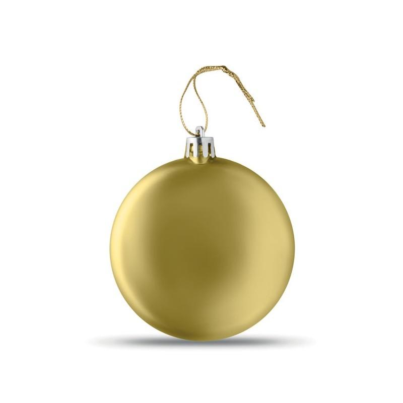 LIA BALL - Glob plat de Crăciun           CX1454-98, Gold
